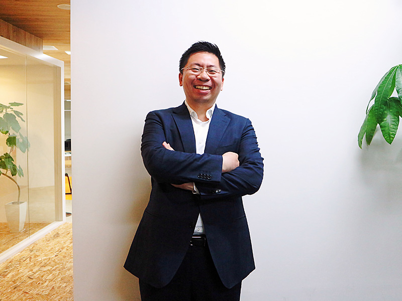ヴァンテージマネジメント株式会社 趙翔さまインタビュー写真